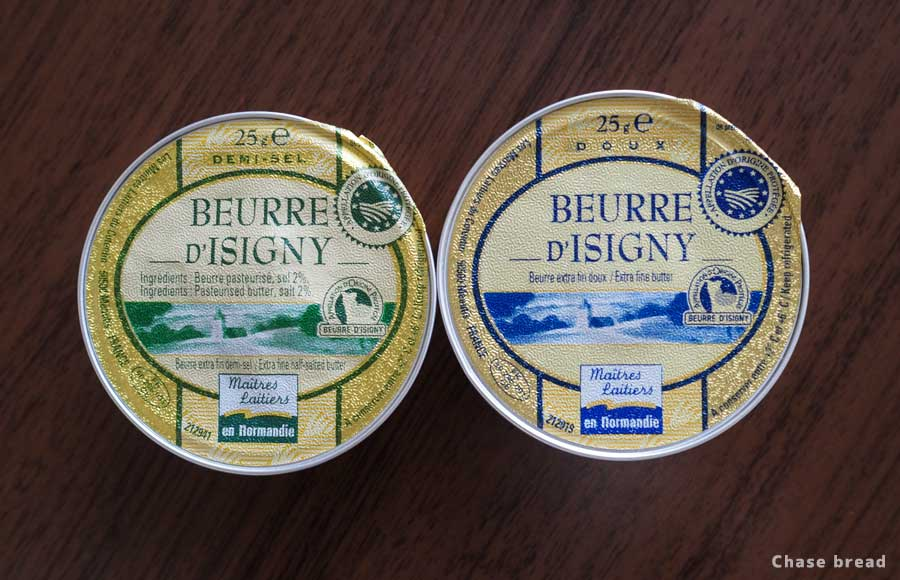 ノルマンディ産イズニーのバター